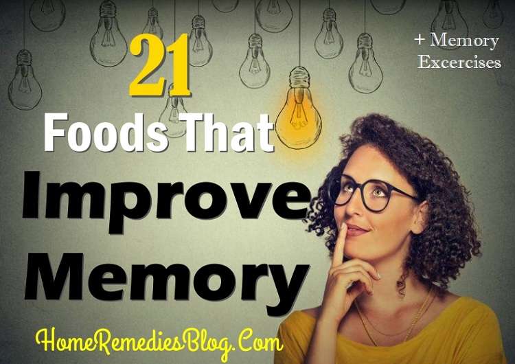 Foods That Improve Memory NAturally