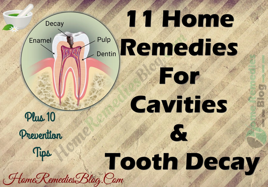 how to fix tooth decay naturally