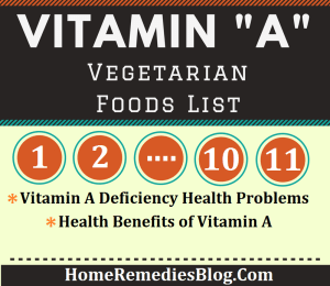 11 Vitamin A Rich Vegetarian Foods & Health Benefits