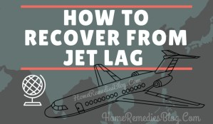 How To Recover From Jet Lag Naturally