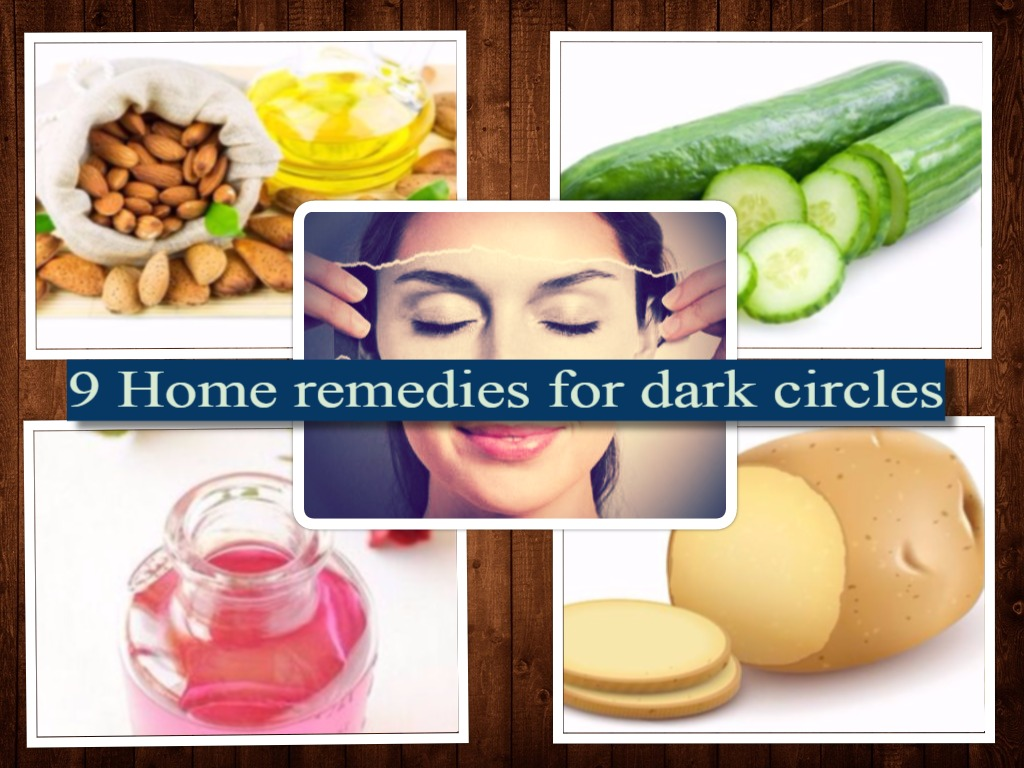 Dark circles home remedies