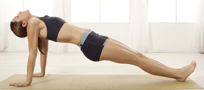 The Upward Plank - Purvottanasana