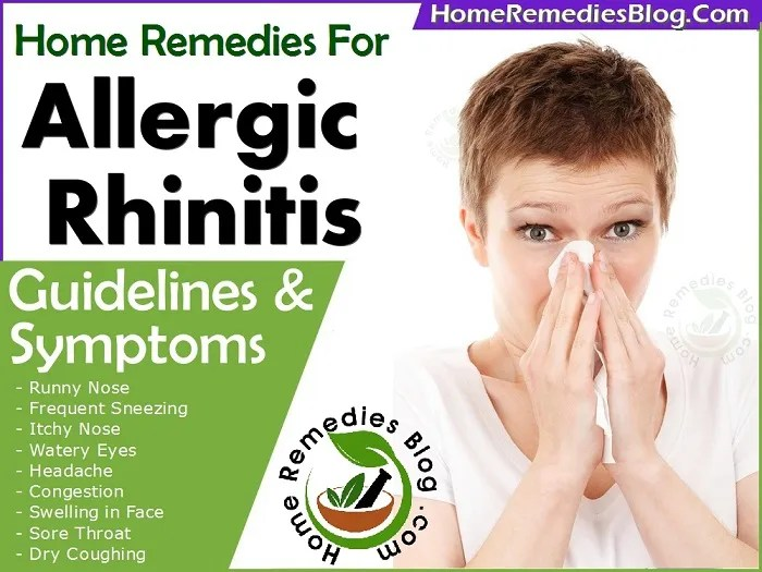 13 Effective Home Remedies For Allergic Rhinitis With