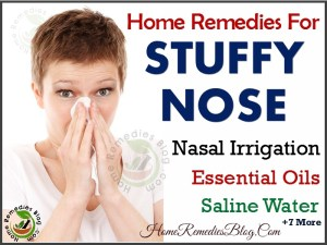 7 Home Remedies to Get Rid of a Stuffy Nose + Essential Oils
