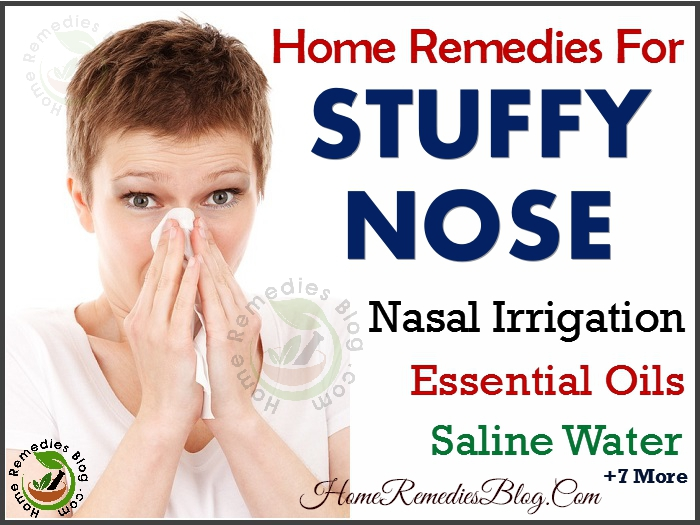 how to clear a stuufy nose