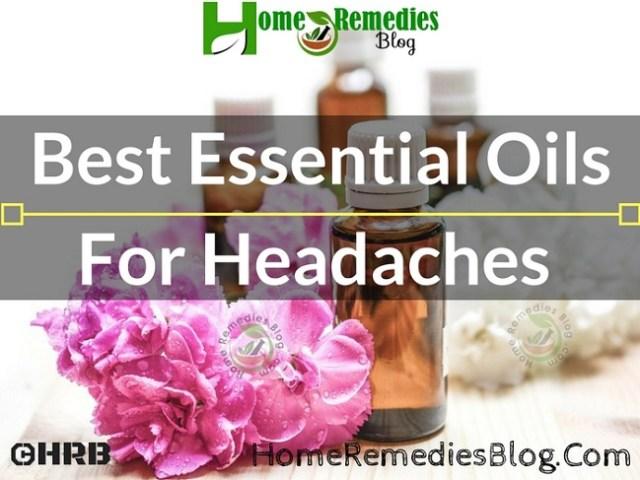 9 Best Essential Oils for Headache Relief