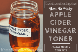 Apple Cider Vinegar as Face Toner
