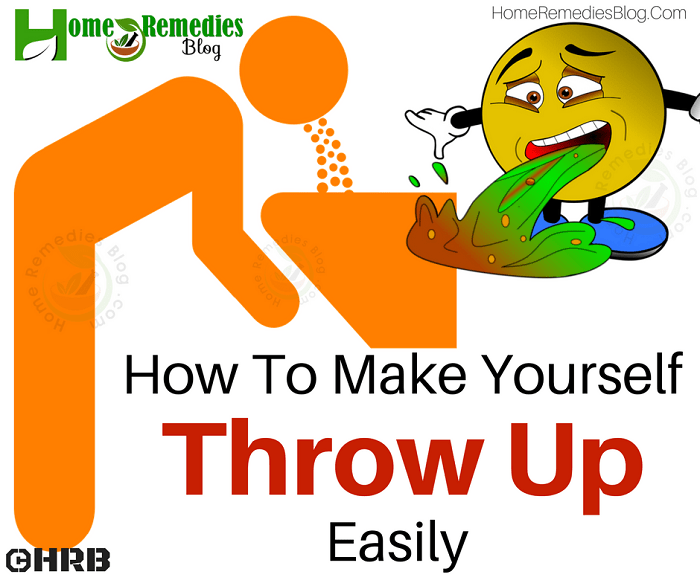 How To Make Yourself Throw Up Naturally