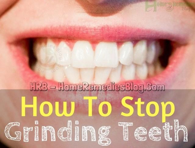 How to Stop Grinding Teeth in Sleep Naturally