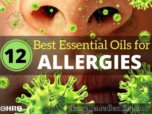 12 Best Essential Oils For Allergies & How To Use Them