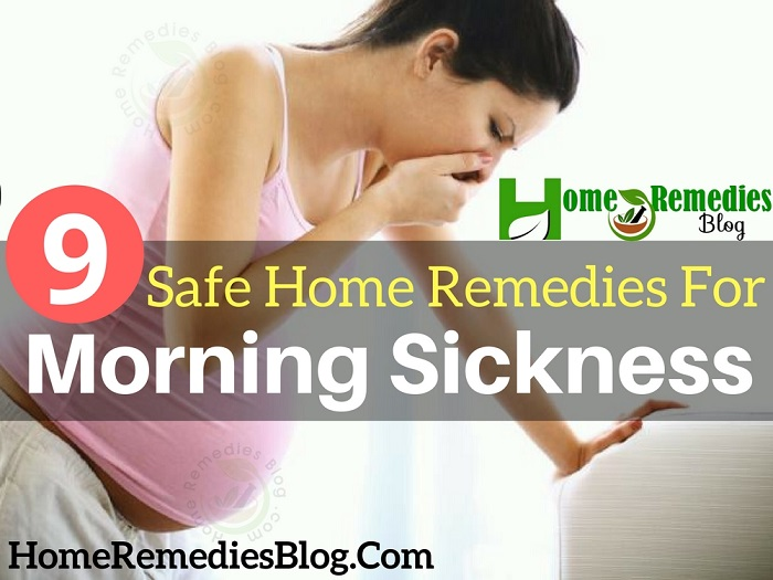 9 Safe Home Remedies To Get Rid of Morning Sickness Naturally