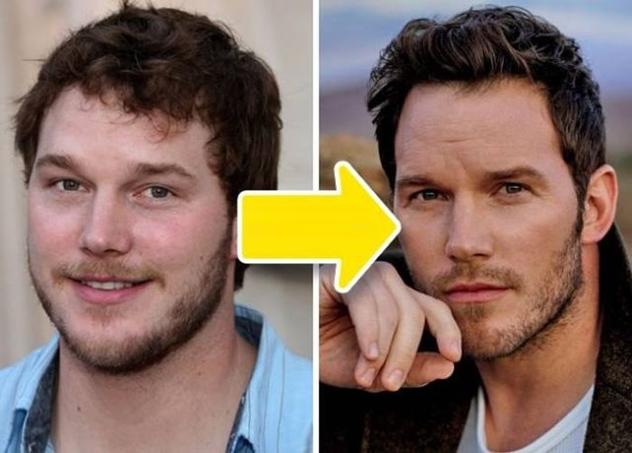 chris pratt-Before-And-After-Losing-Weight