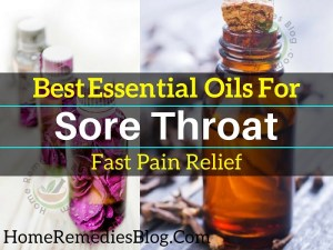 8 Best Essential Oils for Sore Throat and Pain