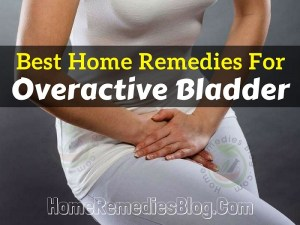 Overactive Bladder Home Remedies