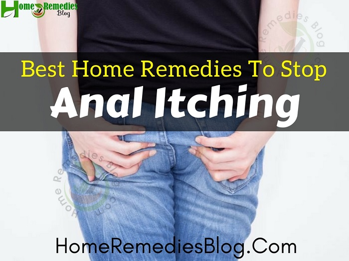 Anal itch stop immediatley