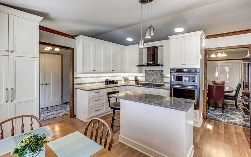 Bright Open Concept Kitchen Remodel Minneapolis  Titus