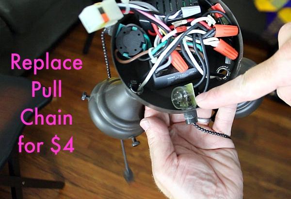 harbor breeze fan wiring diagram trailer lights 4 pin ceiling light repair: save $90 in 10 minutes - home repair tutor