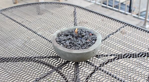 diy gel tabletop fire pit lifehacker home repair tutor concrete firepit