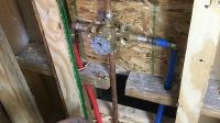 Pex To Shower Valve Installation
