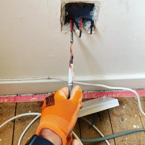 Rewiring conduit flats east kilbride