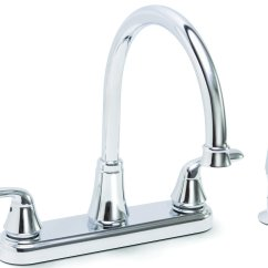 Kitchen Sinks And Faucets Mirrored Cabinets Best Sink Single Two Handle White Black Chrome Faucet