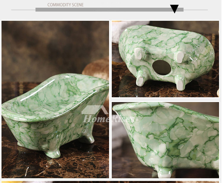 Fashion Ideas Ceramic Clawfoot Tub Soap Dish