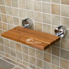 Shower Chair Malaysia Rocking For Twins Dpxe Teak Wood Wall Mounted Folding Seat Hois259613 6 Jpg