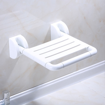 shower chair for elderly singapore florence dining high strength plastic and aluminum wall mounted folding seat 164 32 98 99