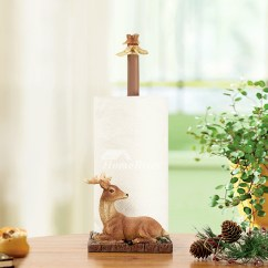 Unique Kitchen Wall Clocks How To Clean Tiles Walls Decorative Free Standing Deer Toilet Paper Holder
