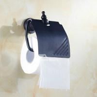 European Oil Rubbed Bronze Toilet Paper Holder Wall Mount