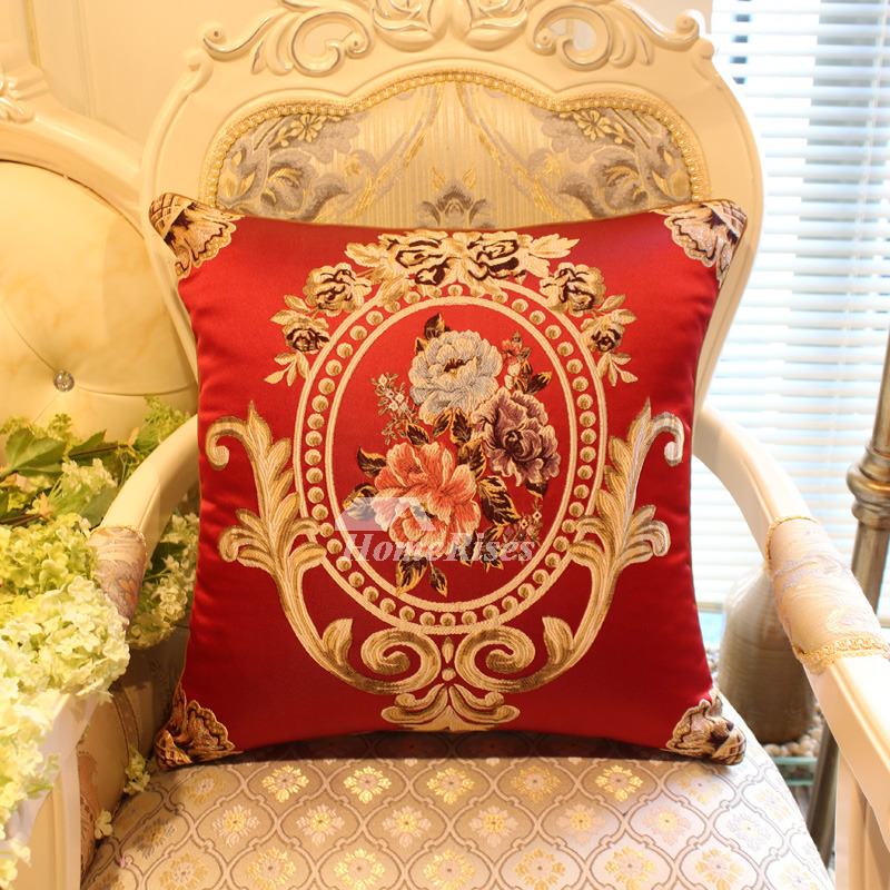 Perhaps not for everyone, but i'm a sucker for yellow. luxury Vintage Red Floral Best Throw Pillows For Couch