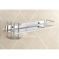 Wall Mounted Stainless Toothbrush Holder For Bathroom