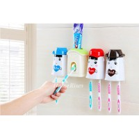 Kids Toothbrush Holder Suction Cup For Bathroom