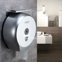 Modern Commercial Toilet Paper Holder Wall Mount ABS Plastic