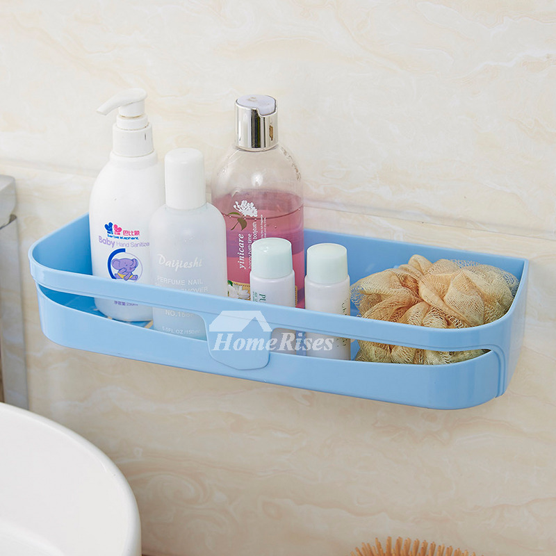 Suction Cup Bathroom Shelf