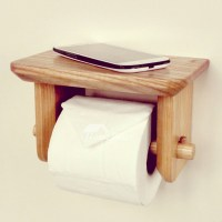 toilet paper holder wood wood toilet paper holder wall ...