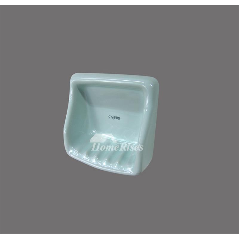 modern ceramic wall mounted soap dish bathroom