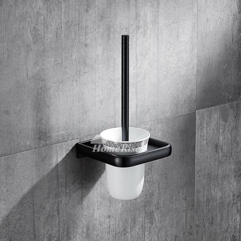 6 piece kitchen table sets deep sink 5-piece black oil-rubbed bronze bathroom accessories set