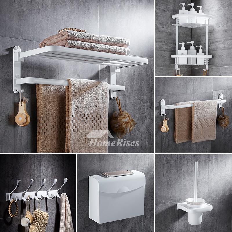 5Piece Aluminum Painting Cheap Bathroom Accessories Sets