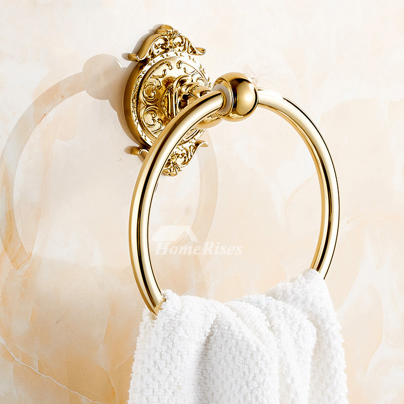Polished Brass Bathroom Faucets