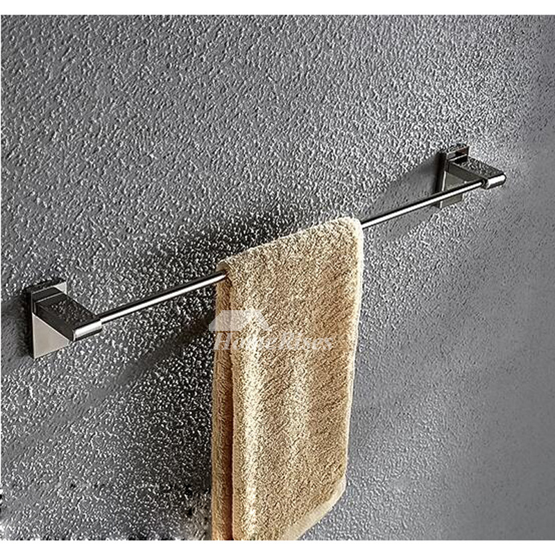 Stainless Steel Bathroom Accessories Sets Wall Mount Chrome