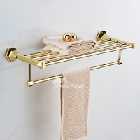 Good Polished Brass Gold Bathroom Accessories Sets Bathroom