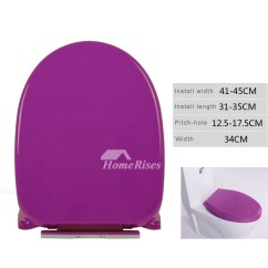 Cheap Kitchen Knobs And Pulls White For Cabinets Elongated Toilet Seat Purple Thicken Pp Cushion