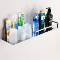 Silver Toothbrush Holder Wall Mount Stainless Steel Bathroom