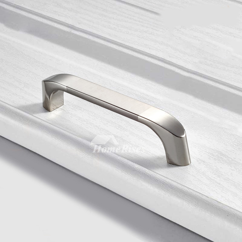 Silver Cabinet Handles Gold Brushed Zinc Alloy Cheap
