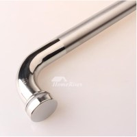Brushed/Chrome Stainless Steel Sliding Door Handles Silver