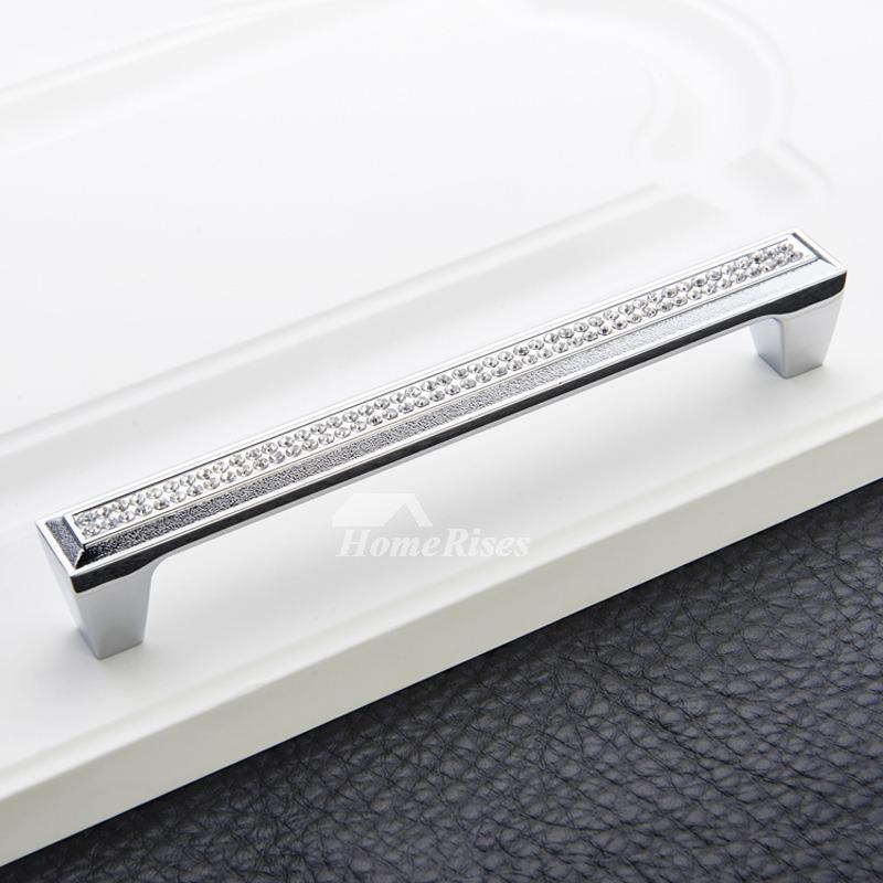 Kitchen Cabinet Pulls drawer cabinet dresser crystal alloy