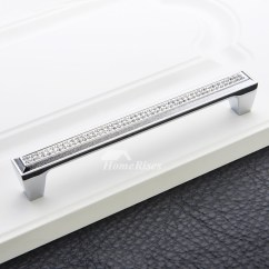 8 Inch Kitchen Cabinet Rug Pulls Appliances Tips And Review Drawer Dresser Crystal Alloy 7