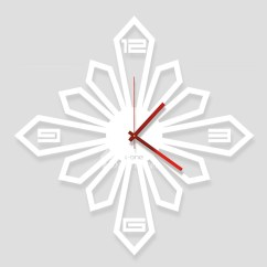 Modern Kitchen Sink Faucets Kid Kitchens Creative Square Unique Wall Clocks Acrylic Cool ...