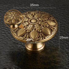 Kitchen Faucets Cheap Window Valances Door Knobs Carved Antique Brass/bronze Gold Decorative